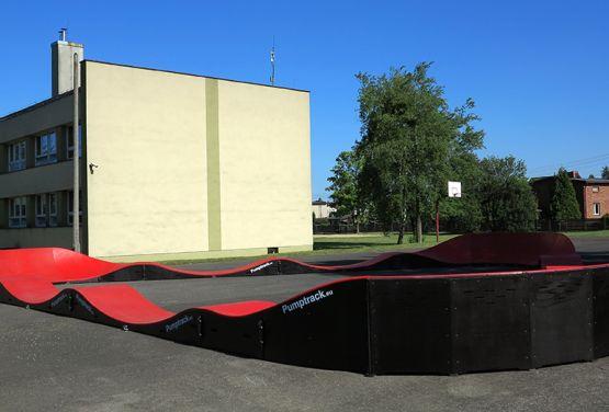 Modułowy Pumptrack w Miasteczku Śląskim