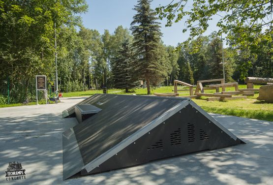 Pyramid in Rabka-Zdrój - skateparks