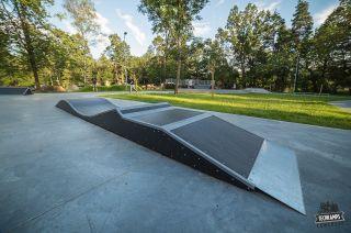 Wave skatepark à Rabka-Zdrój