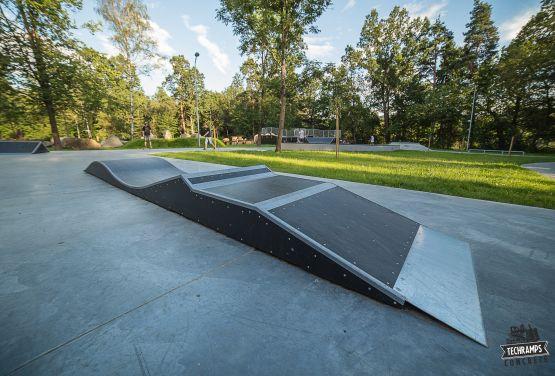 Wave skatepark in Rabka-Zdrój