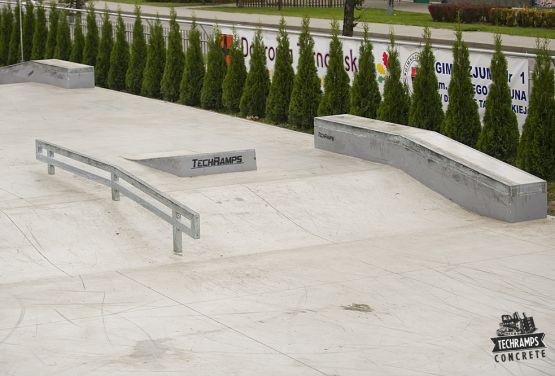 Skatepark Dąbrowa Tarnowska - GrupaTechramps
