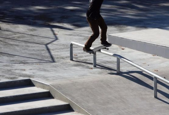 Skatepark - Beton monolith