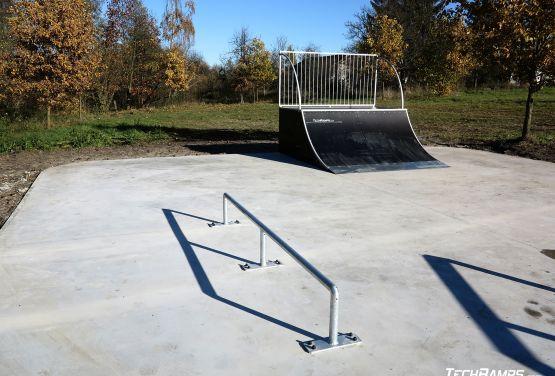 Modulaire skatepark à Żelechlinek