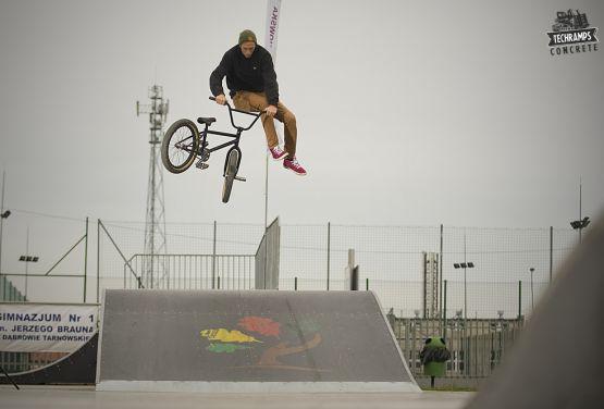 Techramps Concrete - skatepark Dąbrowa Tarnowska