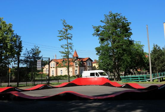rouge pumptrack à Miasteczko Śląskie