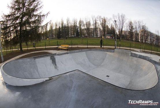 Bowl Skateplaza Krakau