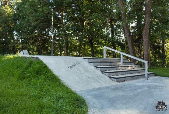 Skatepark schody (Rabka Zdrój)