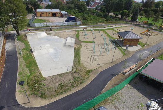 Erweiterung des monolithischen Skateparks - Przemyśl