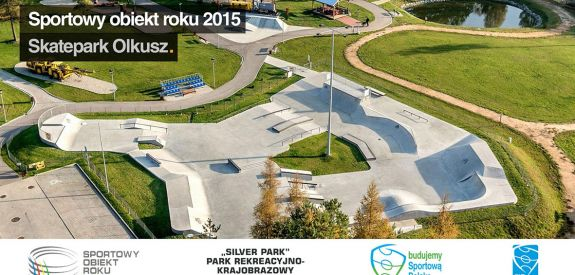 Silver Park in Olkusz - sport facility of the 2015