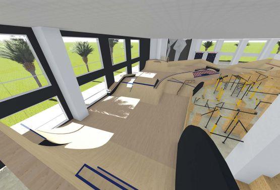 United Arab Emirates - skatepark and flowpark