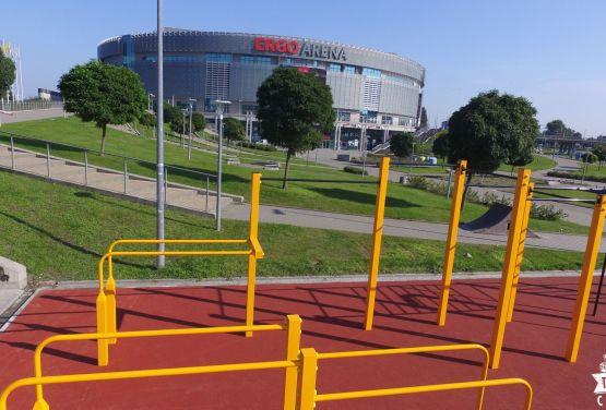 Concrete skatepark - Ergo Arena