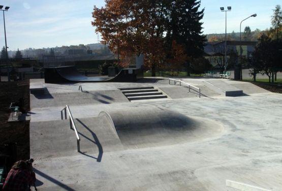 Skatepark w Będzinie - TechrampsCrew
