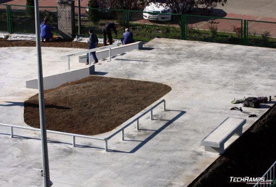 Będzin - skateplaza betonowa