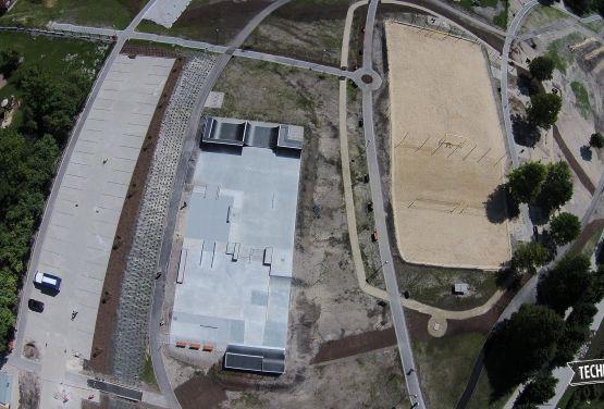 Skatepark betonowy - Busko-Zdrój