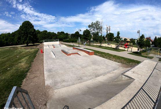 Betonowy skatepark - Bydgoszcz