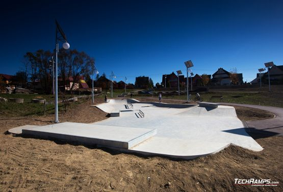 skatepark adapted to users