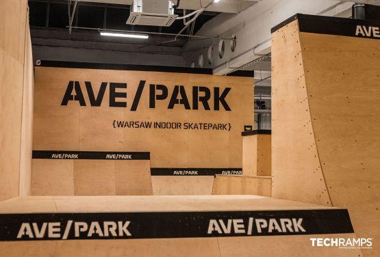 Skatepark intérieur