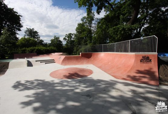 Cracovie - skatepark dans le Jordan Park