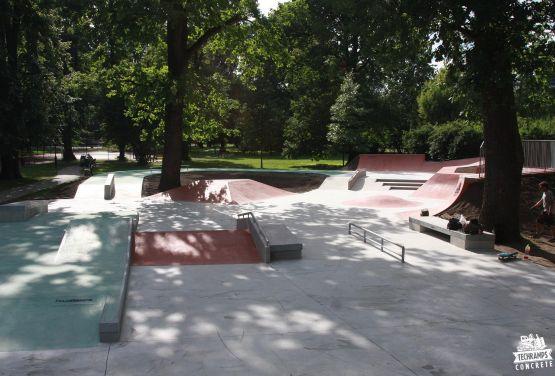 Skatepark à Cracovie