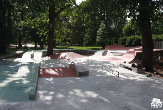 Skatepark in cracow