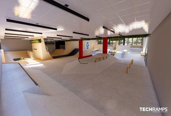 skatepark cubierto
