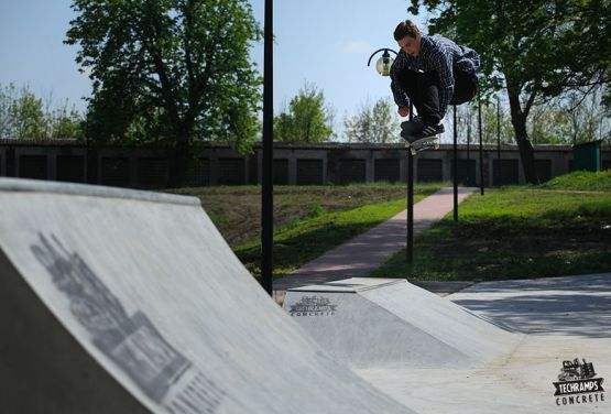 Skatepark de hormigón Techramps - Stopnica