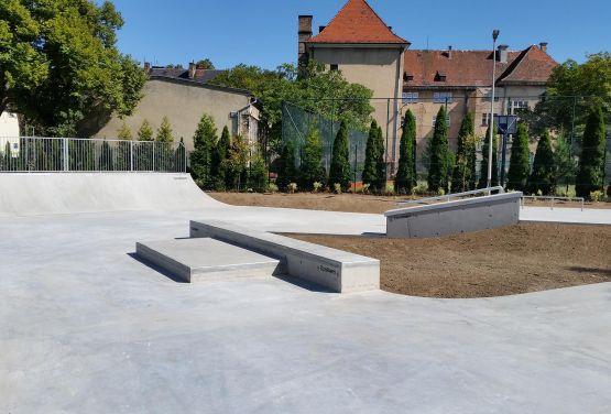 Skatepark en béton Żagań - TechrampsConcrete