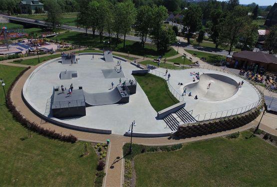 implementación skatepark para Wąchock