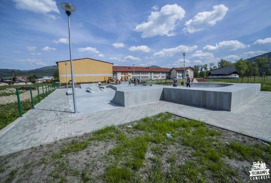 Skatepark en béton Milówka