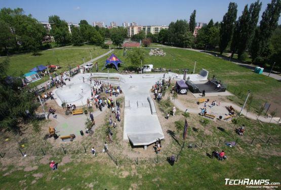 Skatepark en Mistrzejowice