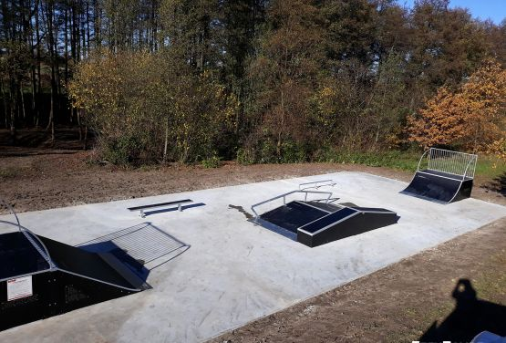 Skatepark idea - Żelechlinek