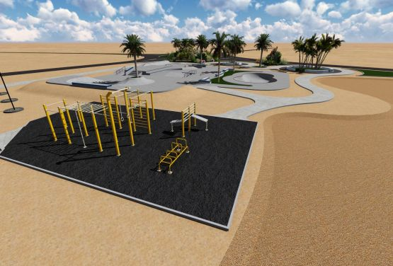 Skatepark concept - Egypte