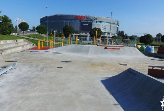 Ergo Arena skatepark et Pologne