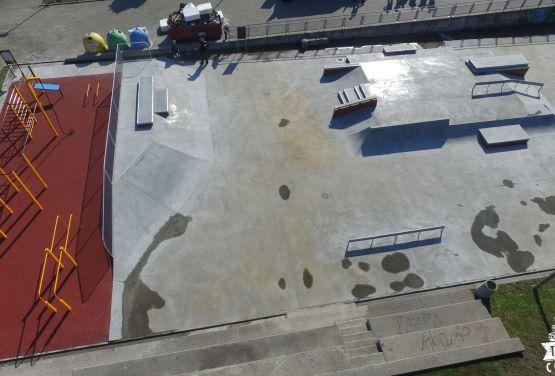 skatepark à côté de Ergo Arena