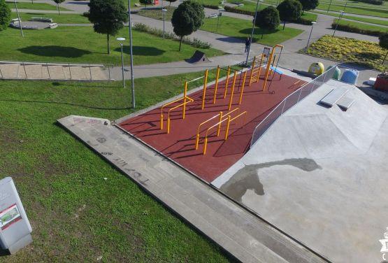 Techramps - béton skatepark Gdańsk