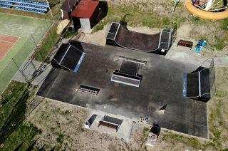 Modulaire skatepark à Głogów Małopolski