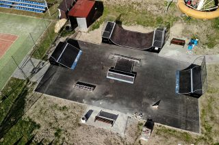 Modularer skatepark in Głogów Małopolski