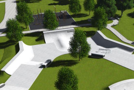 Project documentation - Iżewsk skatepark