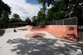 Concrete skatepark Jordan Park