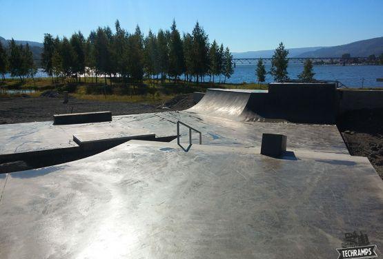 Skatepark in Lillehammer