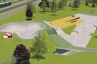 Skatepark in Park Lotników