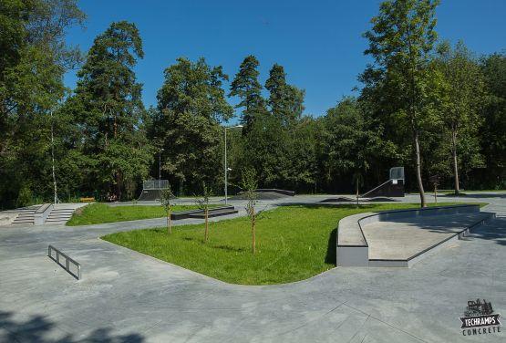 Obstacles in Rabka-Zdrój skatepark