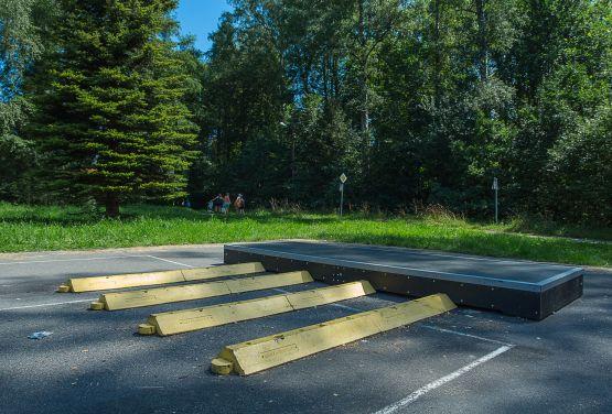 Modular skatepark in Rabka-Zdrój