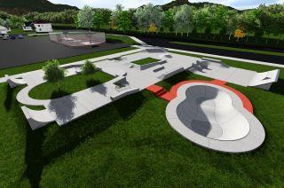 Skatepark in Stjordal - design documentation
