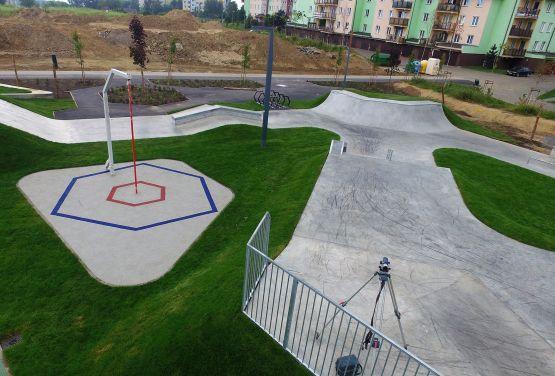 Beton skatepark Świecie