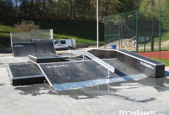 Modularer skatepark - funbox