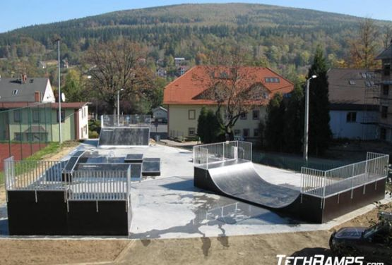 Skatepark in Świeradów-Zdrój (Polen)