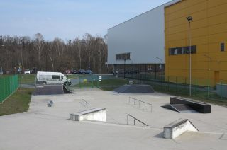 Skatepark in Tarnowskie Góry (Silesia Province)