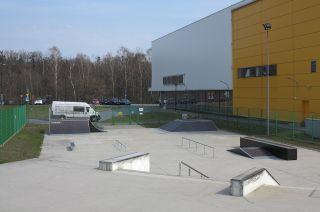 Skatepark in Tarnowskie Góry (Schlesische Provinz)