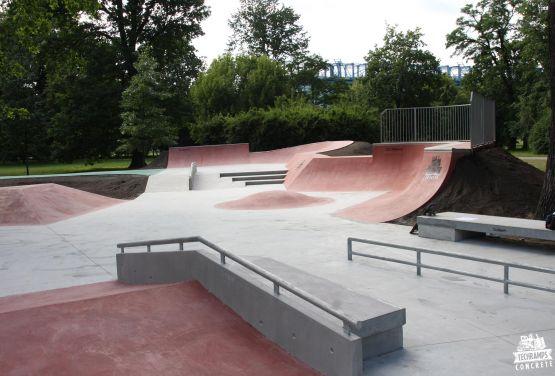 Skatepark à Cracovie - Jordan Parc